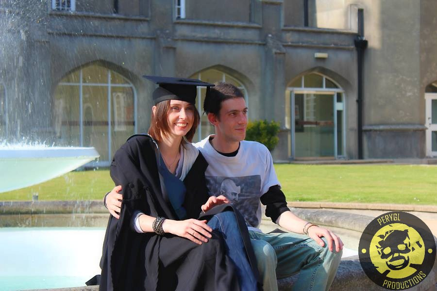 Rhi Morgan-Cairns BA (Hons) with our other new team member pNut Sammarco.