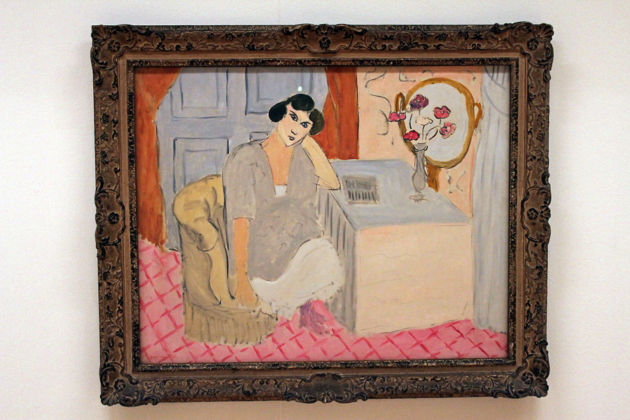 The Inattentive Reader by Henri Matisse (1919)