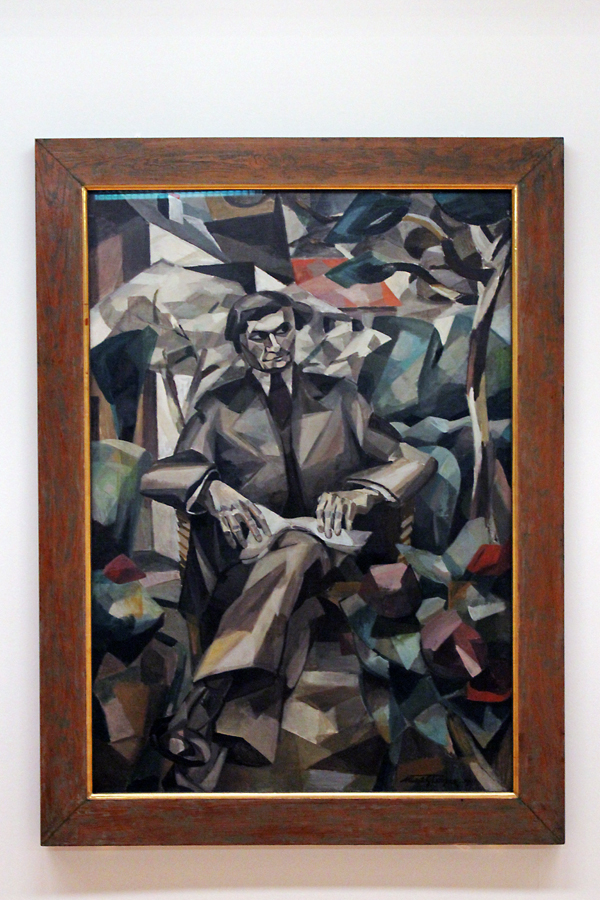 Portrait of Jaques Nayral by Albert Gleizes (1911)