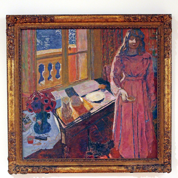 The Bowl of Milk by Pierre Bonnard (1919)