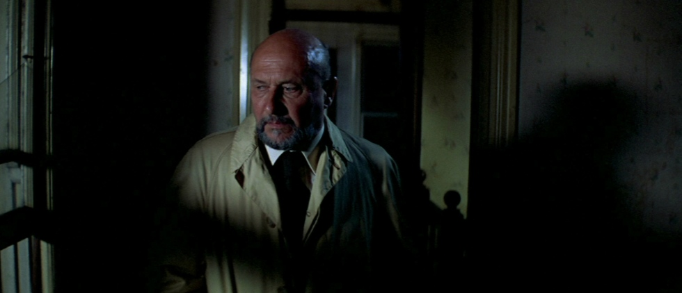Donald Pleasence as Dr. Loomis has his work cut out when his psychotic patient escapes.