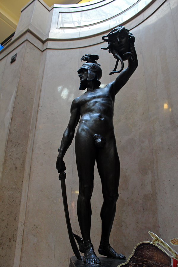 'Perseus' by Frederick William Pomeroy 1898