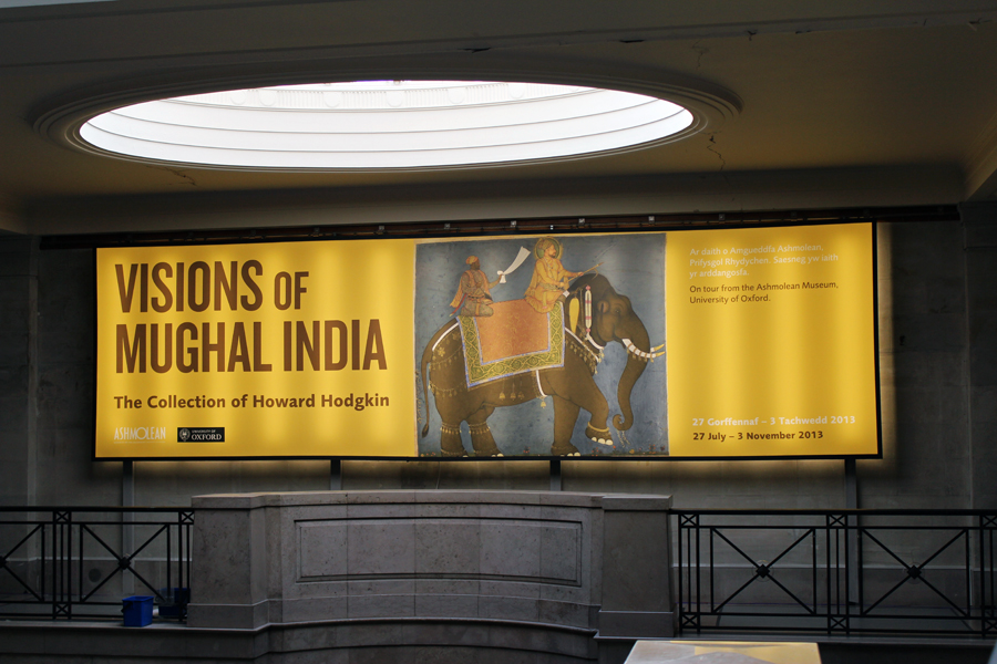 The 'Visions of Mughal India Exibition' runs until November 3rd