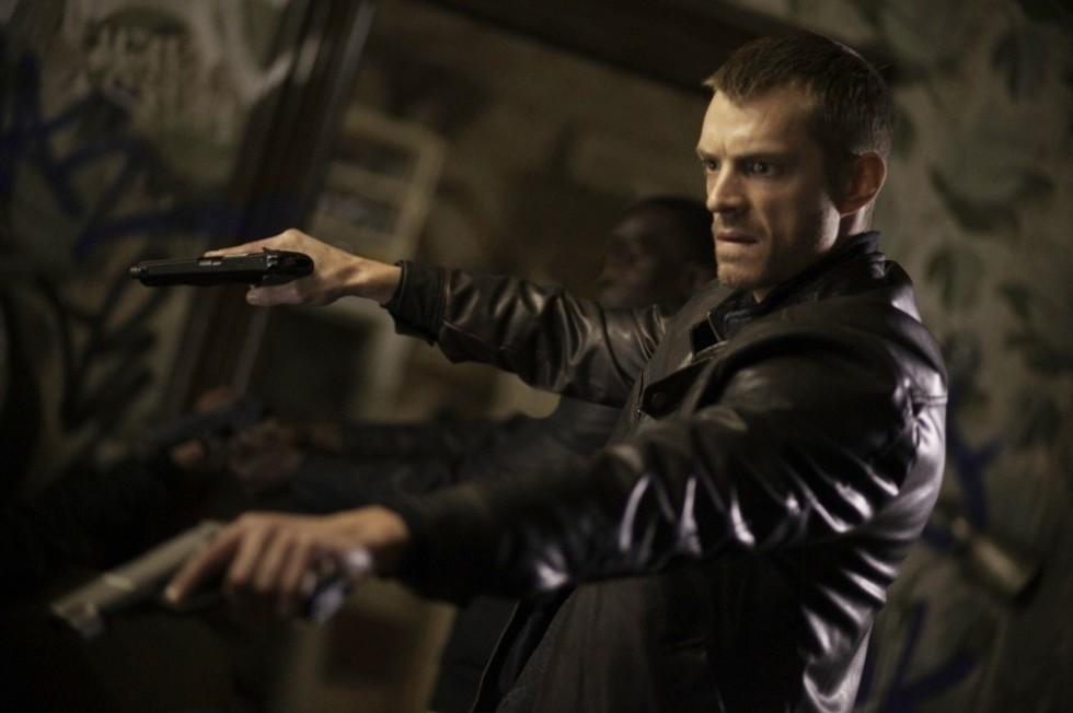 Joel Kinnaman as Detroit Police Detective Alex Murphy.