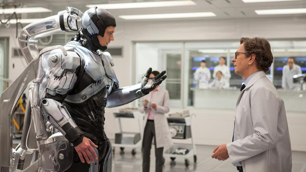 Gary Oldman is the film's saving grace playing Dr. Dennet Norton. The science behind RoboCop and the ethics behind Murphy.