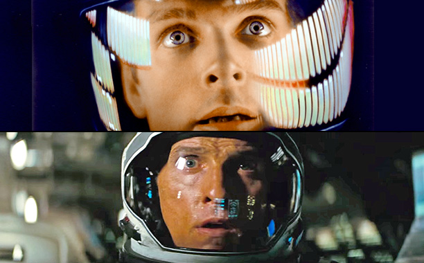 There are many stylistic nods to Kubrick's classic 1967 film.